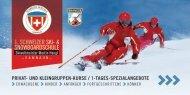 Erste Schweizer Ski- und Snowboardschule Samnaun - Prospekt 2019/2020