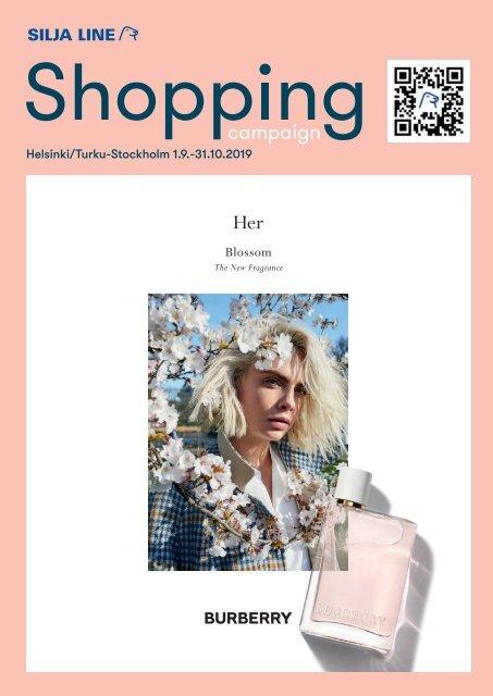 *** Helsinki/Turu-Stockholm, September&October, 2019 Autumn Silja Line Shopping catalogue