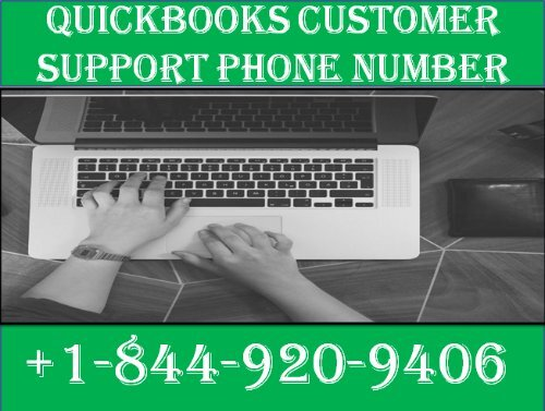 Quickbooks Enterprise Customer Support Phone Number +1-844-920-9406