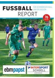 Fussball Report 2019