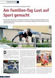 Am Familien-Tag Lust auf Sport gemacht - Landessportverband für ...