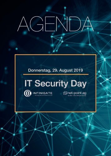 AGENDA - IT Security Day Luzern 2019