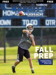 August 2019 Issue of Varsity Monthly Thumb Magazine