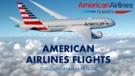 American Airlines Flights Book Your Flights at Best Deal and Offer