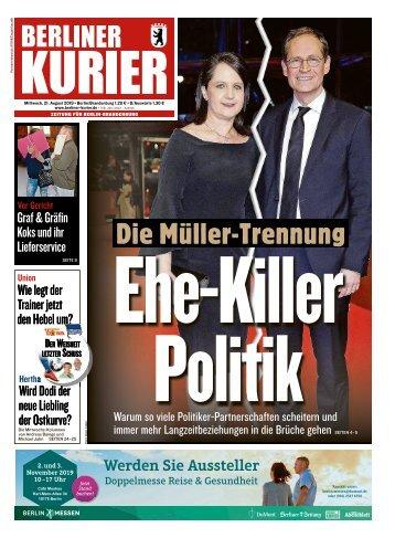Berliner Kurier 21.08.2019
