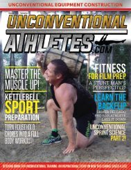 Unconventional Athletes Issue 3