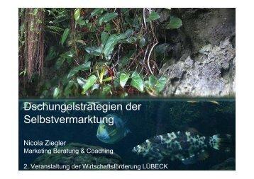 Dschungelstrategien der Selbstvermarktung - Wirtschaftsförderung ...