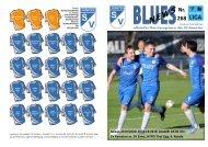Blues Heimspieltag gegen den SV Zams