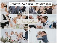 Creative Wedding Photographer with Chris Woodman Photography