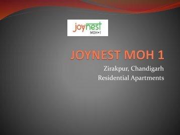 Buy Affordable Home in Joynest Moh 1 Zirakpur, Mohali | 8448738360