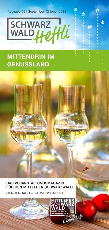 Schwarzwald-Heftli Ausgabe5 Sept-Okt 2019
