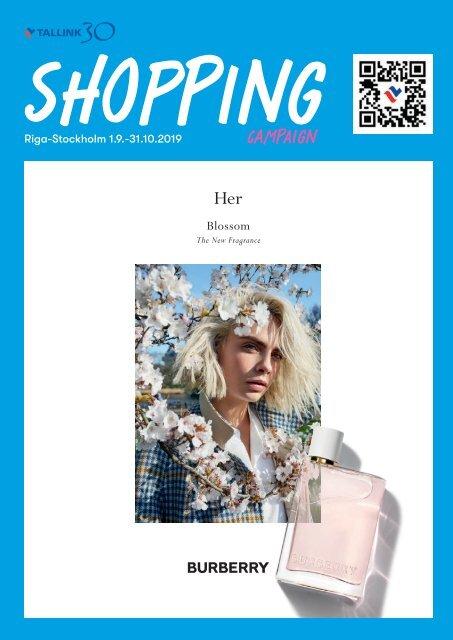 ** Riga-Stockholm, September&October 2019 Tallink Shopping catalogue