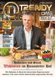 TRENDYone | Das Magazin - Augsburg - September 2019