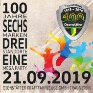 Autohaus Osenstätter 100 Jahr Party