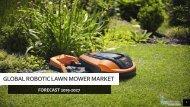 Global Robotic Lawn Mower market- PDF