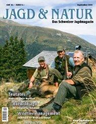 Jagd & Natur Ausgabe September 2019 | Vorschau