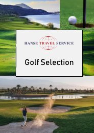Hanse Travel Service - Golf Selection