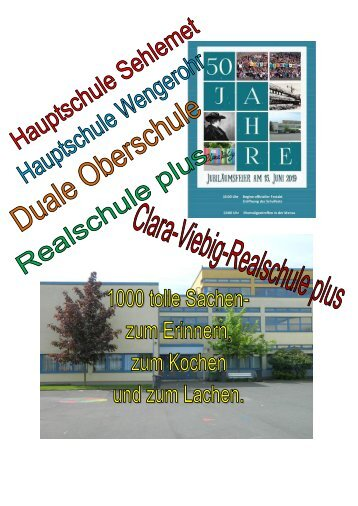 Festschrift zum Schuljubiläum