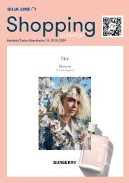 * Helsinki/Turu-Stockholm, September&October 2019, Autumn Silja Line Shopping catalogue