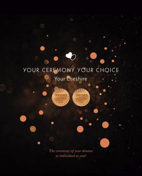 Cheshire East Weddings Brochure 2019