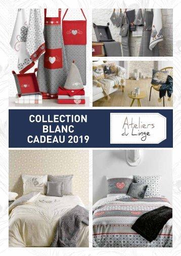 Catalogue Blanc Cadeau Les Ateliers du Linge 2019