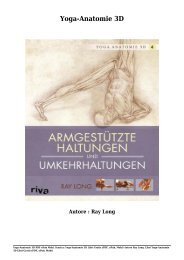 Scarica Yoga-Anatomie 3D (PDF, ePub, Mobi) Di Ray Long