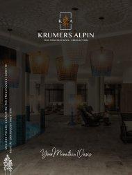 Krumers Alpiin Imagebrochuere | Italian