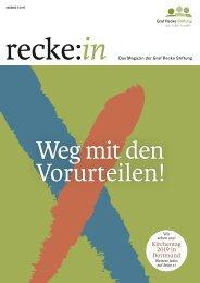 recke:in - Das Magazin der Graf Recke Stiftung   Ausgabe 2/2019