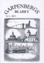 Garpenbergsbladet nr 3 - 2019