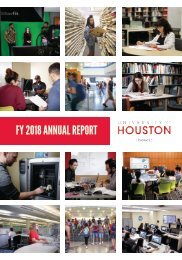 UH Libraries FY2018 Annual Report