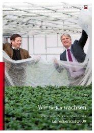 Jahresbericht 2009 - Wirtschaftsförderung Lübeck