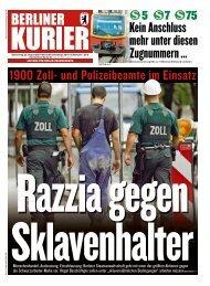 Berliner Kurier 22.08.2019