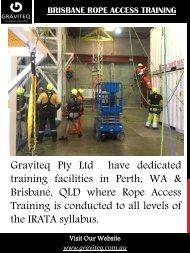 Brisbane Rope Access Training
