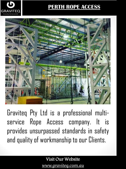 Perth Rope Access Course