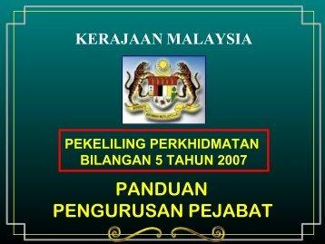 panduanpengurusanpejabat-140902102159-phpapp01