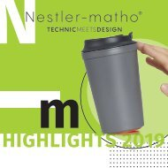 Nestler-matho - Highlights 2019 - Katalog