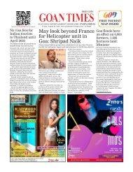 GoanTimes August, 23 2019 issue
