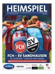 Heimspiel Nr. 2 Saison 2019/20