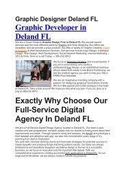 Aku Graphic Designer Deland FL   386-232-9810