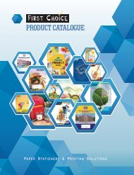 First Choice Catalogue