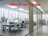 Office Fit Out London - Kova Interiors