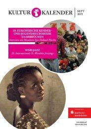 Kulturkalender September 09/19