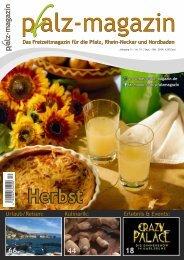Pfalz-Magazin Herbst-Ausgabe 51-2019