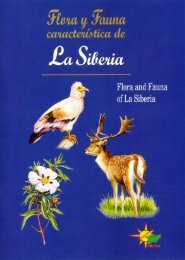 Flora y Fauna característica de La Siberia Extremeña