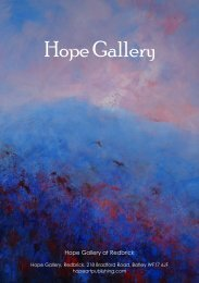 Hope Gallery - August Issue