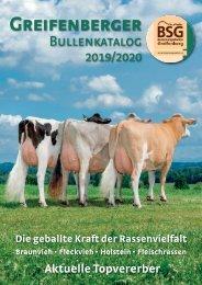 Greifenberger Bullenkatalog 2019/2020