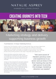 Supporting business growth to create journeys into technology