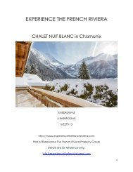 Chalet Nuit Blanc - Chamonix