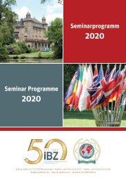 IBZ Gimborn Seminar Programme 2020