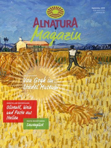 Alnatura Magazin September 2019